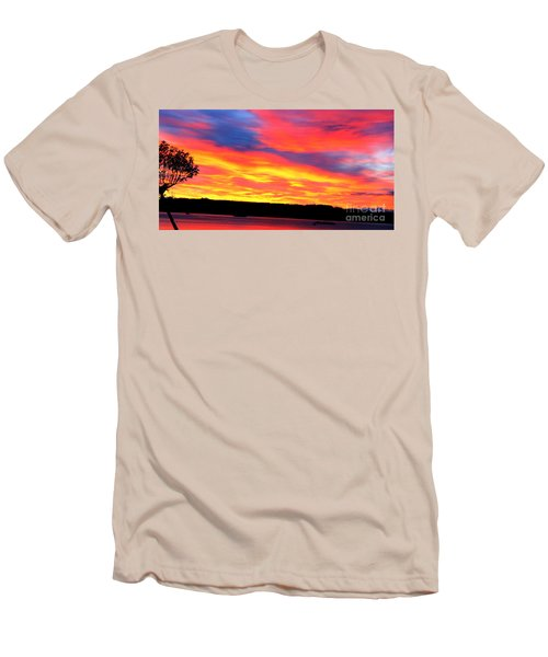 Puget Sound Colors Men's T-Shirt (Athletic Fit)