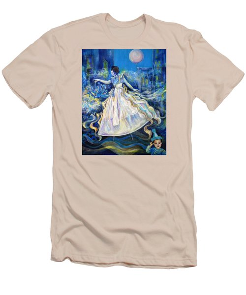 Pursuit Of Happiness Men's T-Shirt (Slim Fit) by Anna  Duyunova