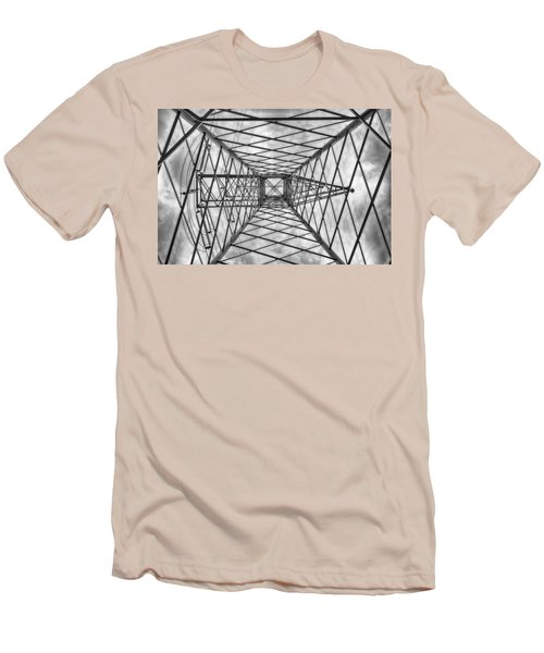 Pylon Men's T-Shirt (Slim Fit) by Howard Salmon