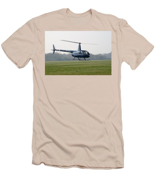 R44 Raven Helicopter Men's T-Shirt (Athletic Fit)