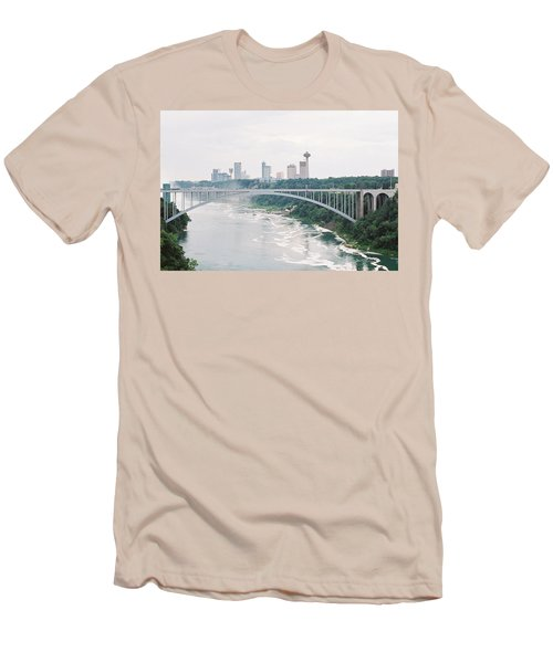 Rainbow Bridge Men's T-Shirt (Athletic Fit)