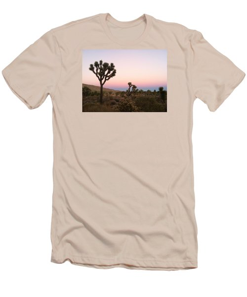 Men's T-Shirt (Slim Fit) featuring the photograph Rainbow Morning by Angela J Wright