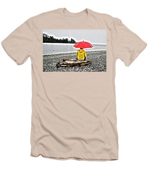 Rainy Day Meditation Men's T-Shirt (Athletic Fit)