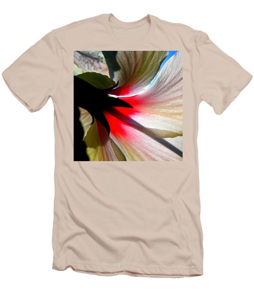Red White N Black Men's T-Shirt (Slim Fit) by John King