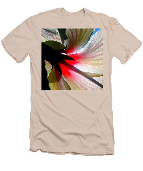 Red White N Black Men's T-Shirt (Athletic Fit)
