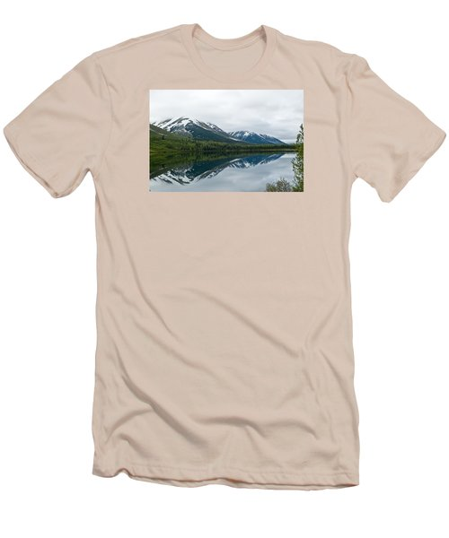 Reflection Montana  Men's T-Shirt (Athletic Fit)