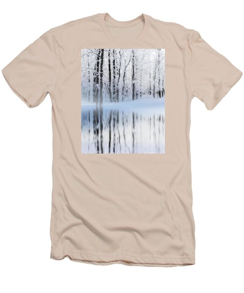 Reflection On A Dream Collingwood, On Men's T-Shirt (Slim Fit) by Andrea Kollo