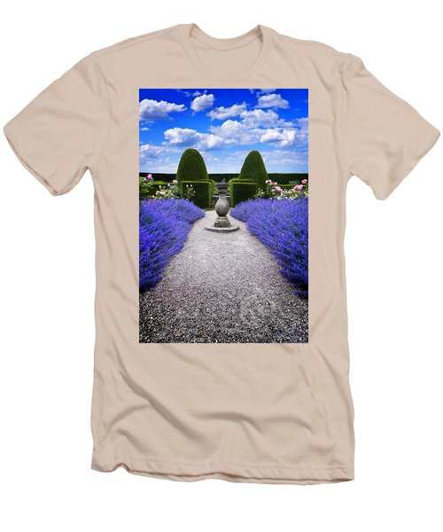 Men's T-Shirt (Slim Fit) featuring the photograph Rhapsody In Blue by Meirion Matthias