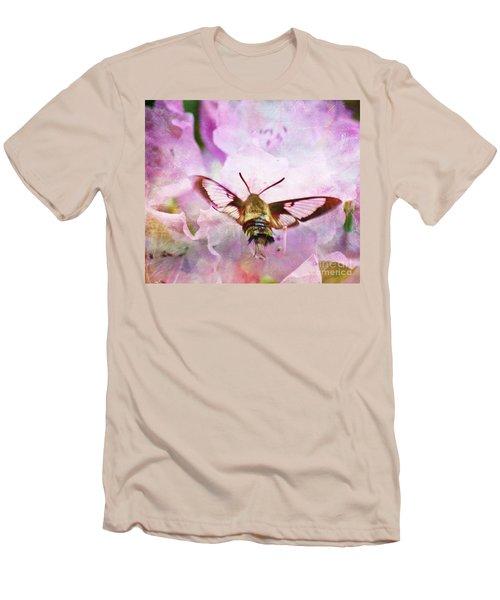 Rhododendron Dreams Men's T-Shirt (Slim Fit) by Kerri Farley