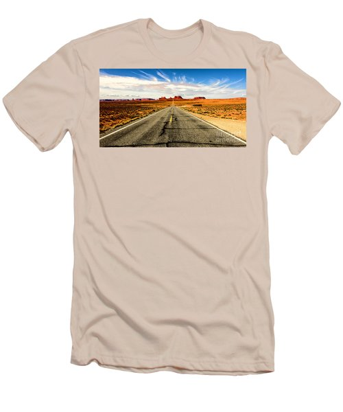 Road To Navajo Men's T-Shirt (Athletic Fit)