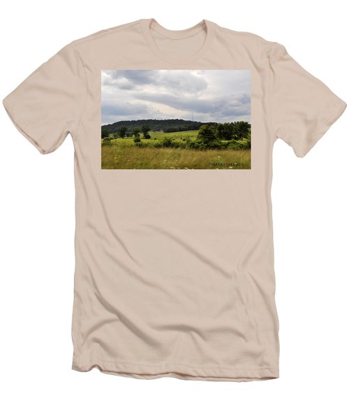 Men's T-Shirt (Slim Fit) featuring the photograph Road Trip 2012 by Verana Stark