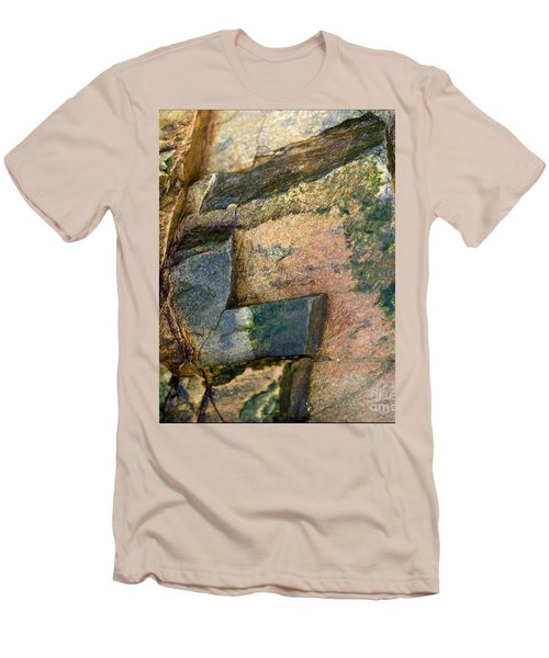Men's T-Shirt (Slim Fit) featuring the photograph Rock On by Liz  Alderdice
