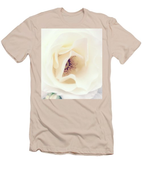 Romance In A Rose Men's T-Shirt (Slim Fit) by Spikey Mouse Photography