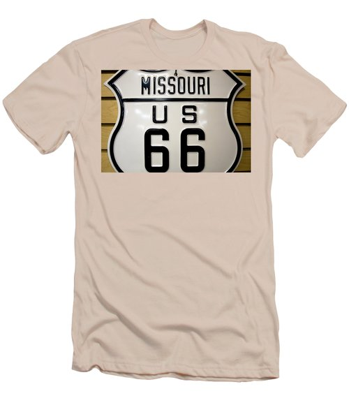 Rout 66 Men's T-Shirt (Slim Fit) by Tara Lynn