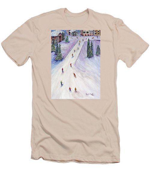 Rush Hour Men's T-Shirt (Slim Fit) by Loretta Luglio