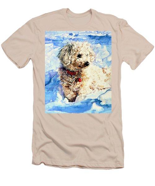 Sacha Men's T-Shirt (Slim Fit) by Hanne Lore Koehler