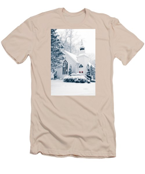 Historic Church Oella Maryland Usa Men's T-Shirt (Athletic Fit)