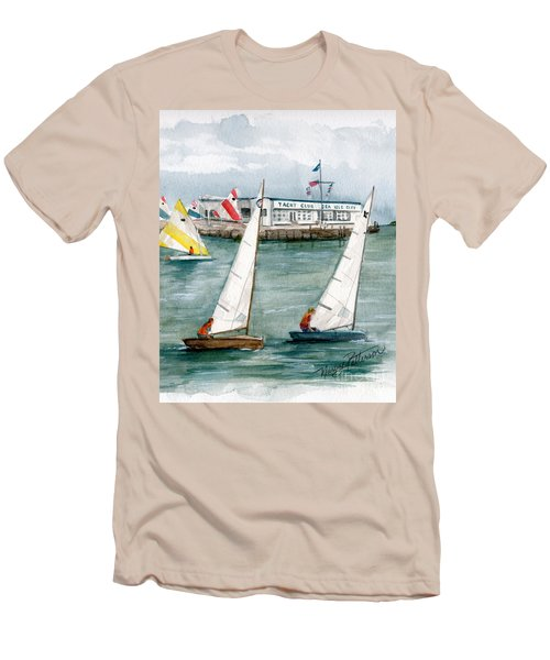 Sailing Class  Men's T-Shirt (Athletic Fit)