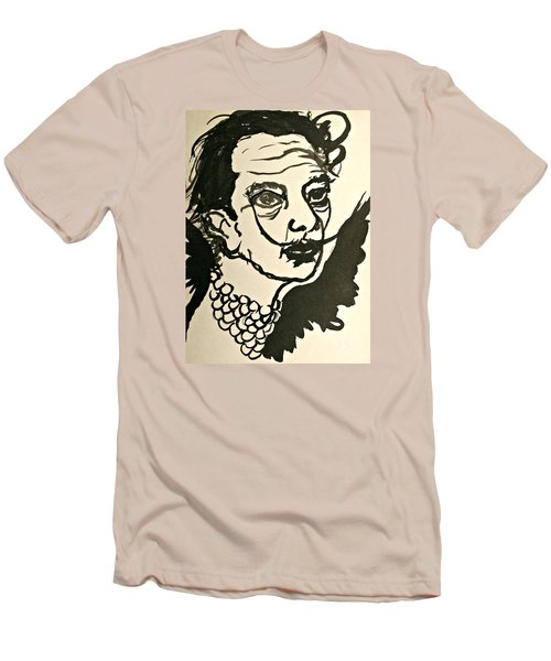Salvador Dali Men's T-Shirt (Athletic Fit)