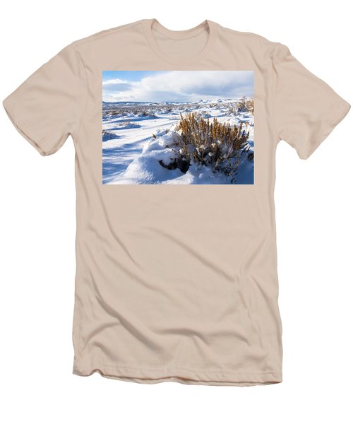 Sand Wash Basin In The Winter Men's T-Shirt (Slim Fit) by Nadja Rider
