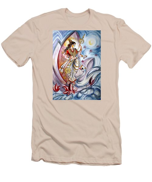 Saraswati Men's T-Shirt (Slim Fit)