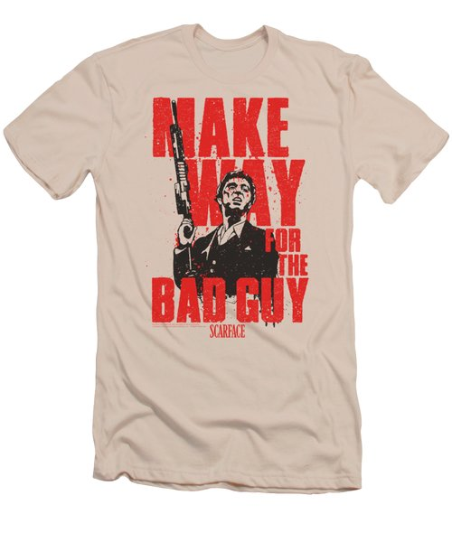Scarface - Make Way Men's T-Shirt (Athletic Fit)