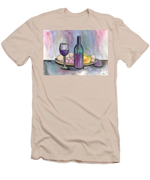 Scene From An Italian Restaurant Men's T-Shirt (Athletic Fit)