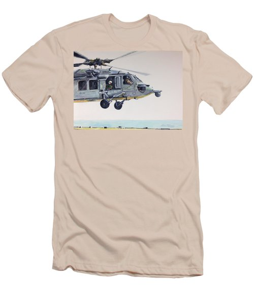 Sea Hawk Men's T-Shirt (Slim Fit) by Stan Tenney