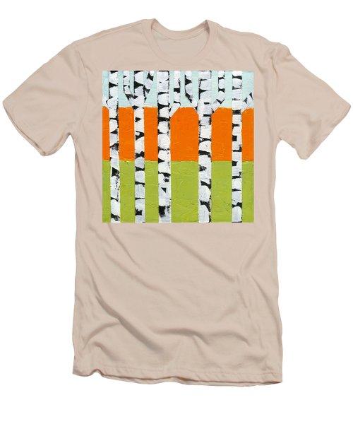 Seasonal Birches - Spring Men's T-Shirt (Athletic Fit)
