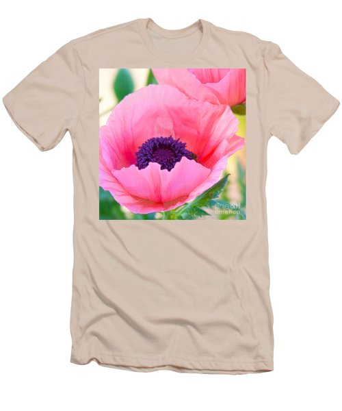Seductive Poppy Men's T-Shirt (Athletic Fit)