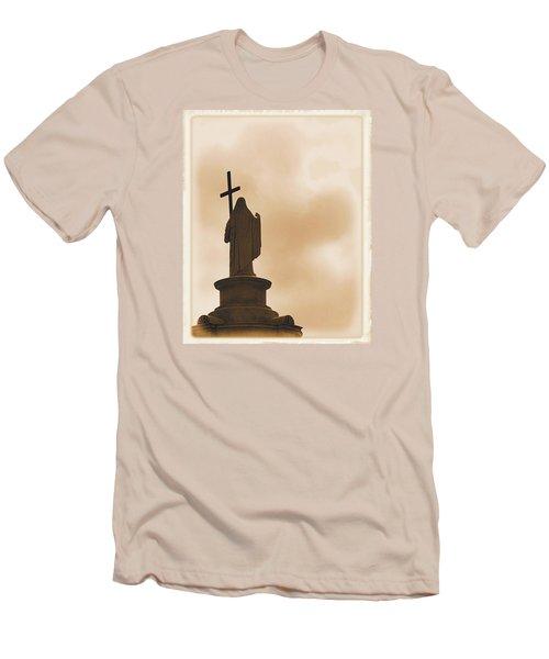 Seeking The Divine Men's T-Shirt (Slim Fit) by Nadalyn Larsen