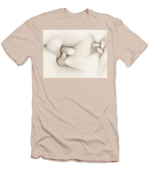Men's T-Shirt (Slim Fit) featuring the digital art Sensual Manifestations 4 by Casey Kotas