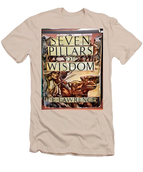 Seven Pillars Of Wisdom Lawrence Men's T-Shirt (Slim Fit) by Jay Milo