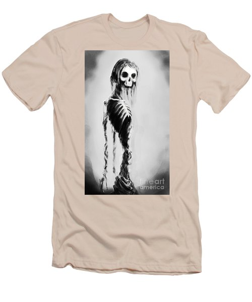 Sexy Bones Men's T-Shirt (Slim Fit) by Tbone Oliver