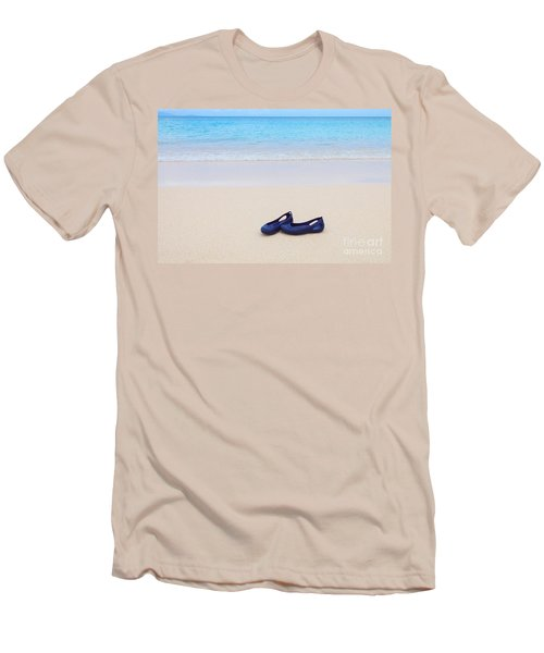 Shoes In Paradise Men's T-Shirt (Athletic Fit)
