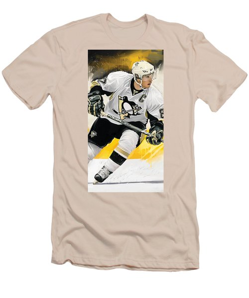Sidney Crosby Artwork Men's T-Shirt (Slim Fit)