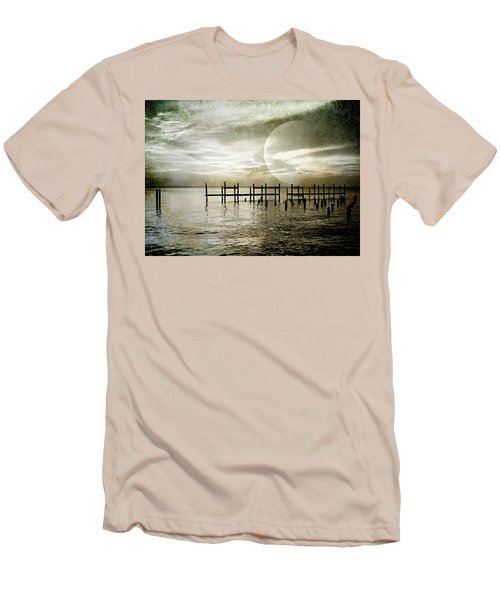 Men's T-Shirt (Slim Fit) featuring the photograph Silhouettes  by Kathy Bassett