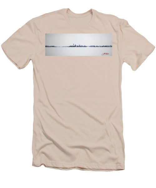 Skyline 10x30-2 Men's T-Shirt (Slim Fit)