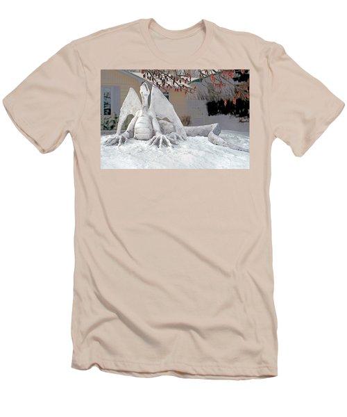 Snow Dragon 3 Men's T-Shirt (Athletic Fit)