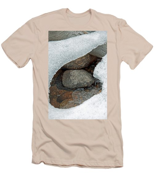 Snow Melt 1 Men's T-Shirt (Athletic Fit)