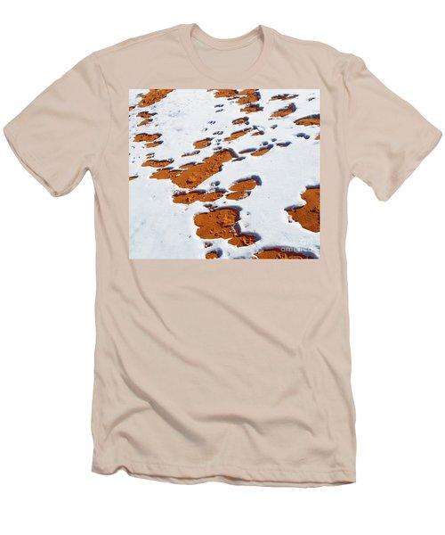 Snow On Dunes Men's T-Shirt (Athletic Fit)