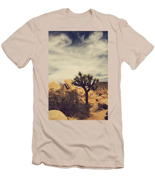 Solitary Man Men's T-Shirt (Slim Fit) by Laurie Search