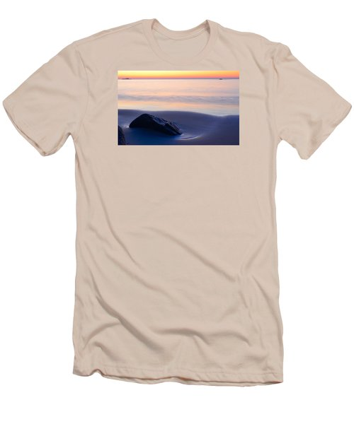 Solitude Singing Beach Men's T-Shirt (Slim Fit) by Michael Hubley