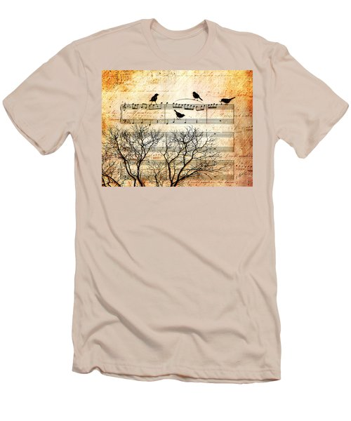 Songbirds Men's T-Shirt (Slim Fit)