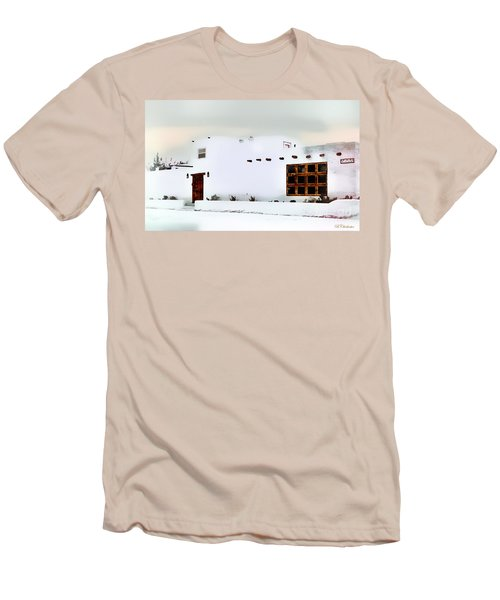 Southwestern Pueblo  Men's T-Shirt (Slim Fit) by Barbara Chichester