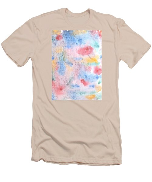 Men's T-Shirt (Slim Fit) featuring the photograph Spring Garden by Susan  Dimitrakopoulos