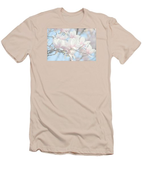 Men's T-Shirt (Slim Fit) featuring the photograph Spring Has Arrived 3 by Susan  McMenamin