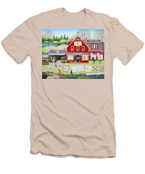 Springtime Wishes Men's T-Shirt (Athletic Fit)