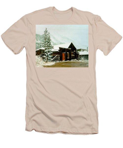 St Elmo Snow Men's T-Shirt (Athletic Fit)