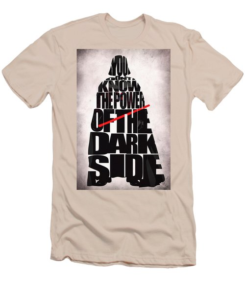 Star Wars Inspired Darth Vader Artwork Men's T-Shirt (Athletic Fit)